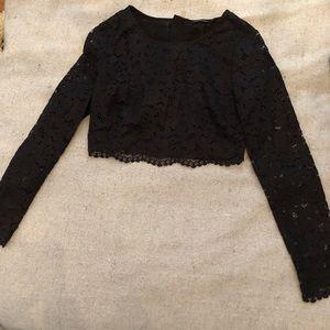 b1a9263178e Marciano Tops | Piya Lace Crop Top | Poshmark